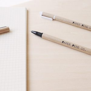 Paper Pens Co brand journey homepage image