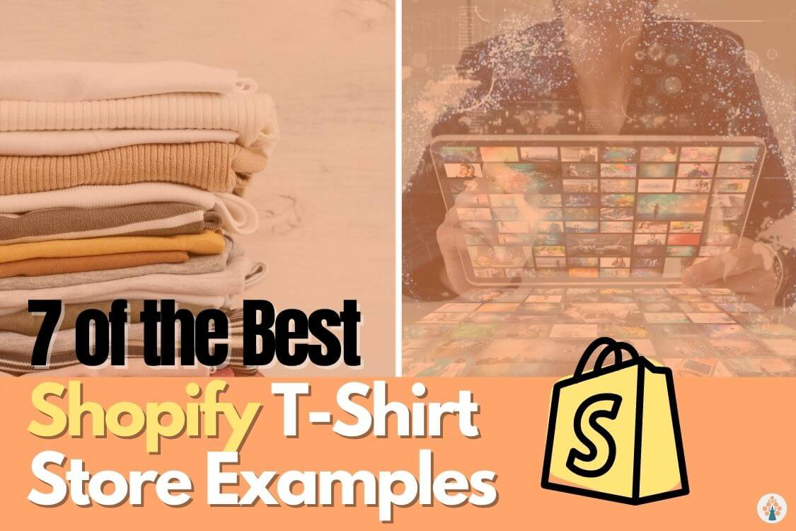 Shopify t-shirt store example feature image