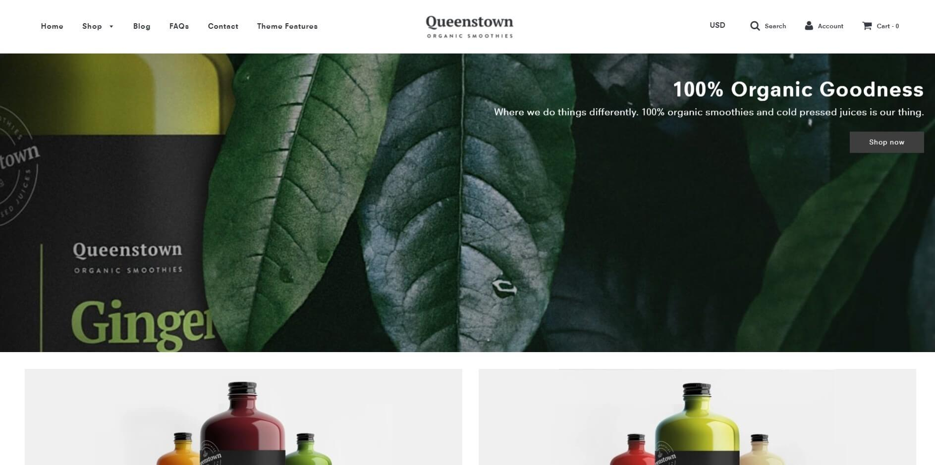 Flow Shopify theme image