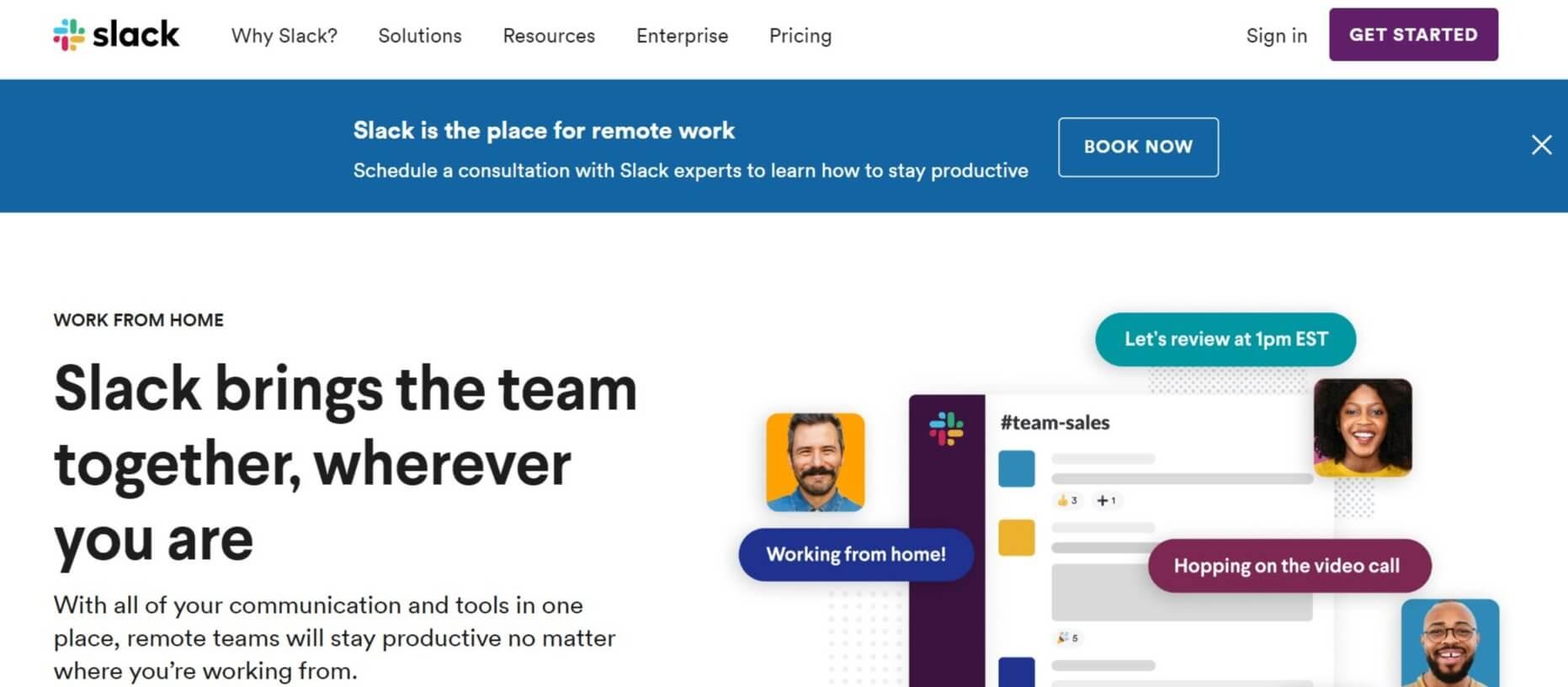 Slack project managemenet tool