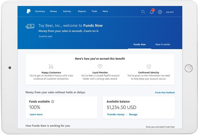 Paypal tool screenshot image