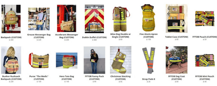 Firefighter Turnout Bags product images