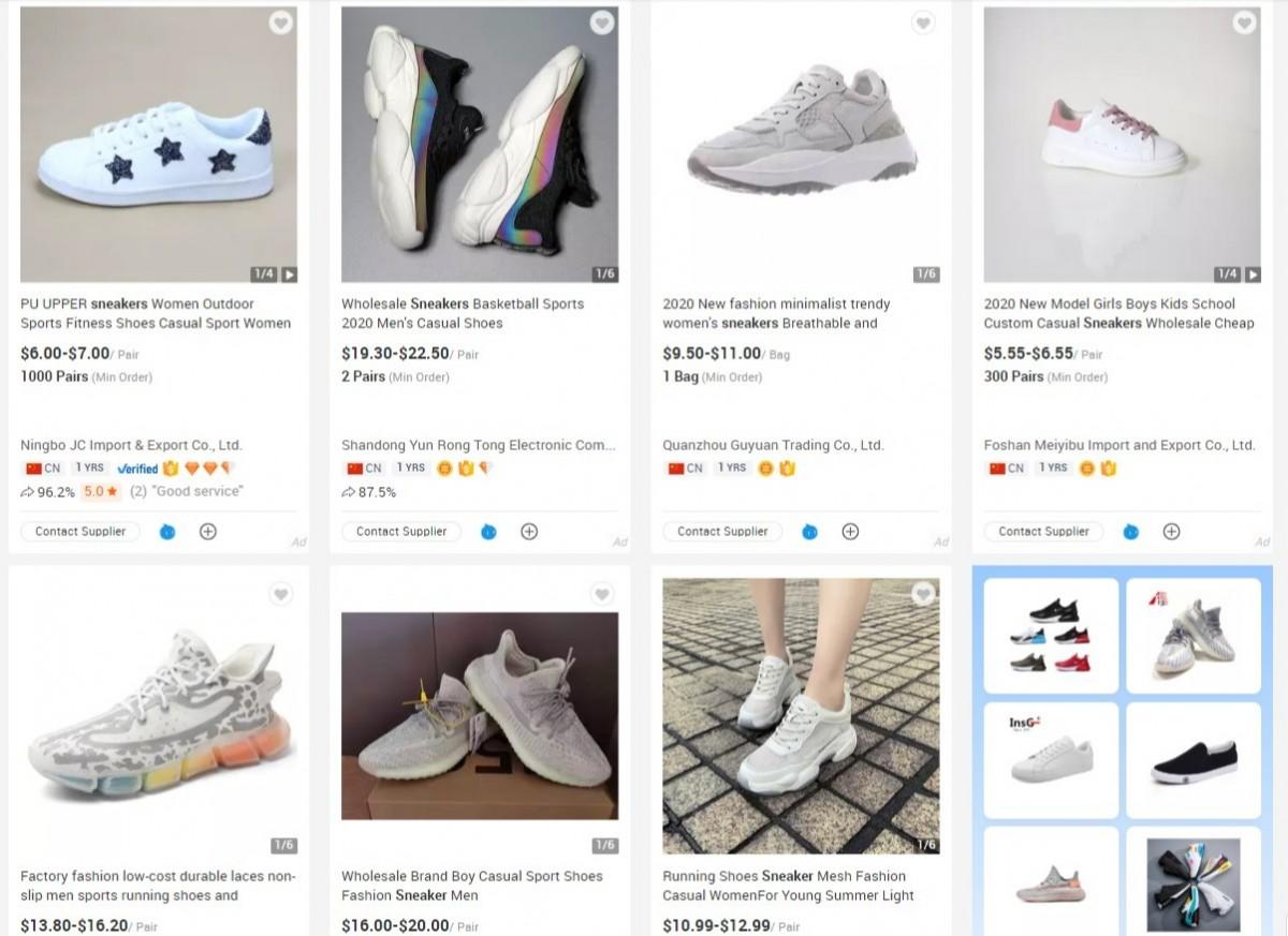 shoe dropshipper image