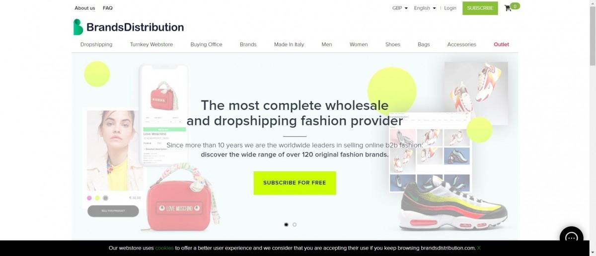Brands distribution image