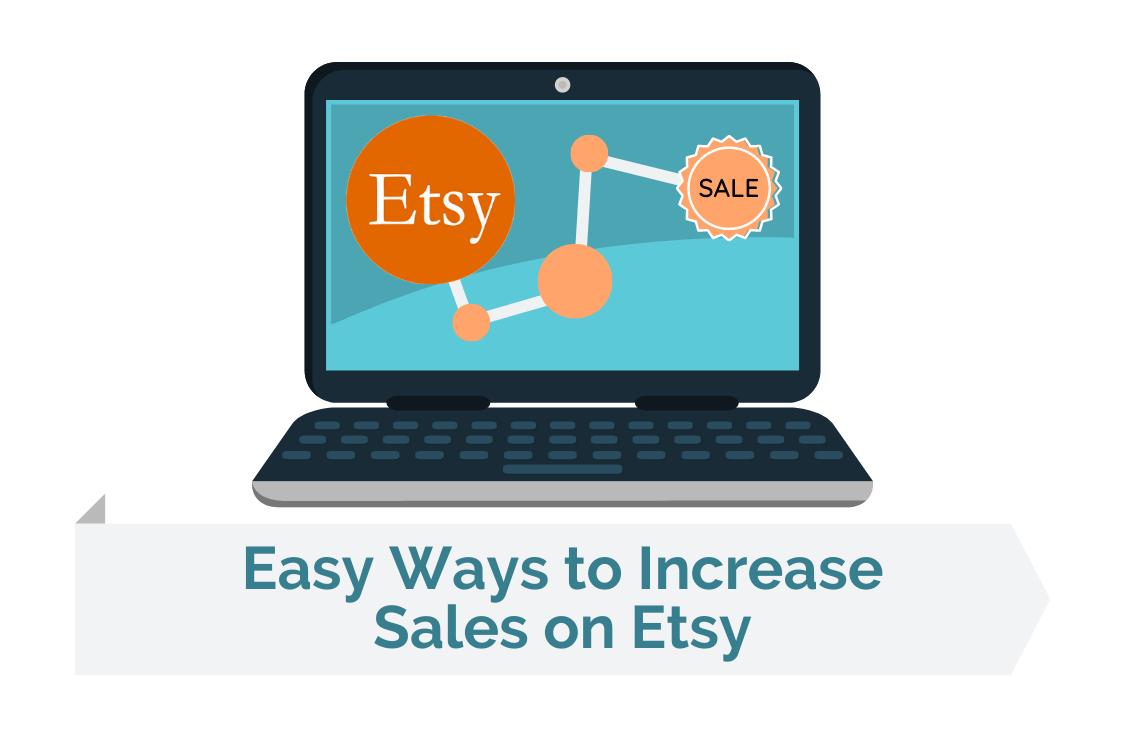Ways to increase sales on Etsy image