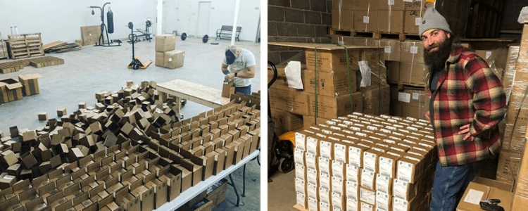 ShipDaddy warehouse image