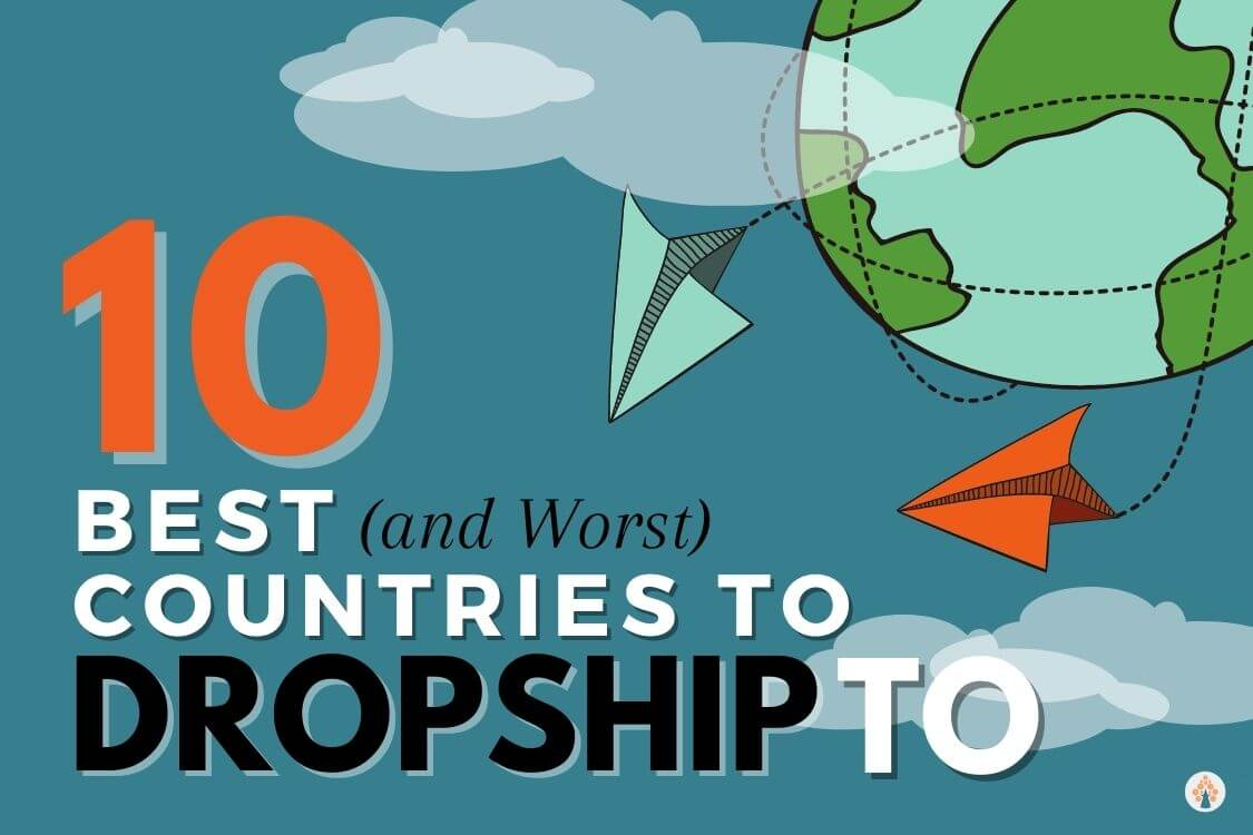 best countries to dropship to
