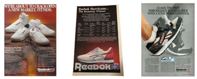 reebok joe foster brand image