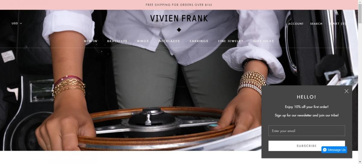 Vivien Frank jewelry store
