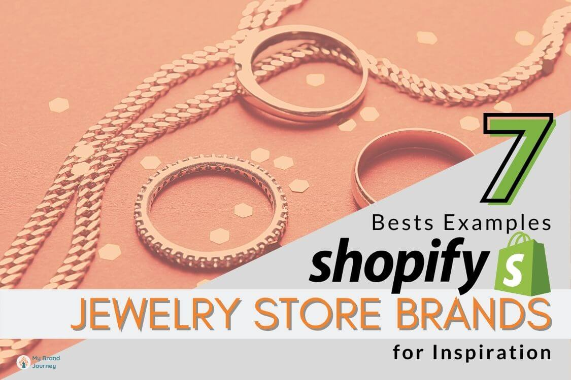 Shopify jewelry store brands