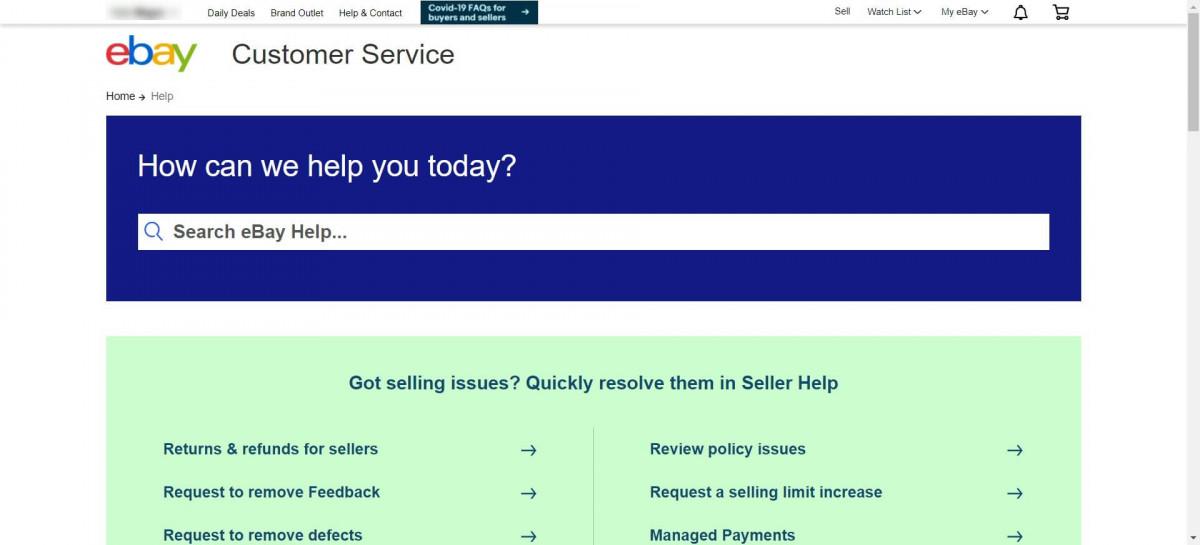 Ebay vs Etsy customer support