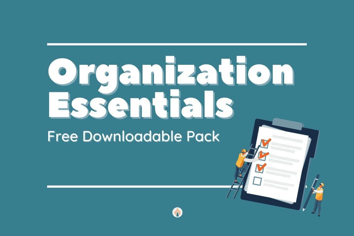 organization essentials image